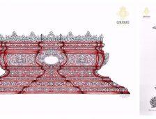 Novedades patrimoniales en los tronos de la Cofradía del Cautivo