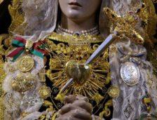 Los Dolores Gloriosos de María en Septiembre. Especial Cultos y Besamanos.