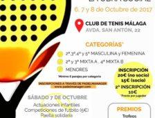 I Torneo Benéfico de Pádel 'Congregación de Mena'