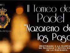 """II Torneo de Pádel benéfico """"Nazareno de los Pasos"""""""