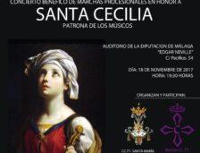 Primeros Conciertos en honor a Santa Cecilia en la capital y provincia