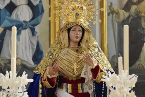 Bendición de la nueva imagen de María Santísima del Sagrario.